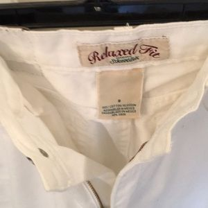 St. John's Bay Shorts - St Johns Bay white jeans shorts